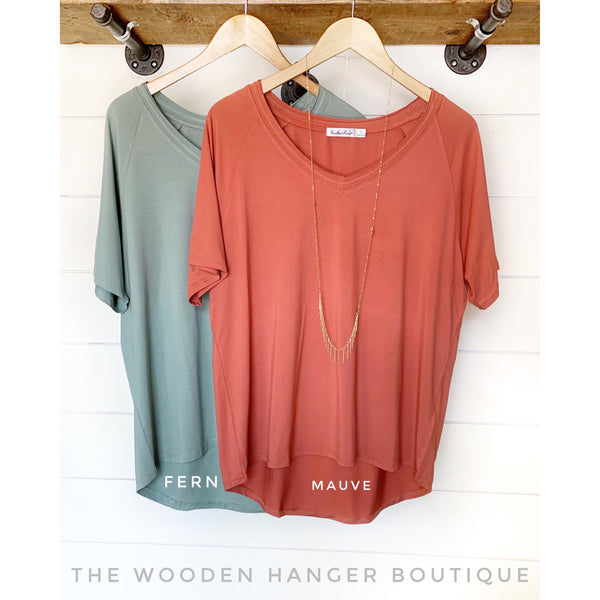 Favorite Casual Everyday Top - The Wooden Hanger Boutique