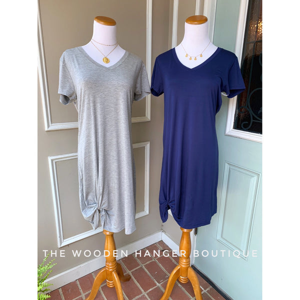 Knot To Be Forgotten T-Shirt Dress