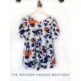 Coming Home Babydoll Top - The Wooden Hanger Boutique