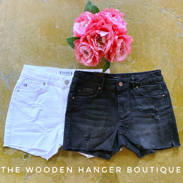 Gigi Highrise Short - The Wooden Hanger Boutique