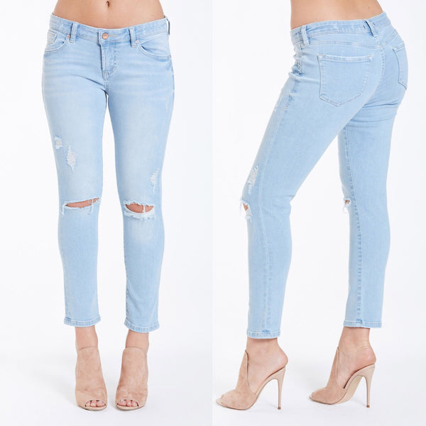 Gisele Crop Skinny, Getaway - The Wooden Hanger Boutique