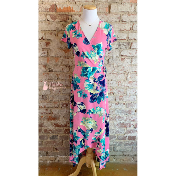 Beautiful Crazy Maxi Dress - The Wooden Hanger Boutique