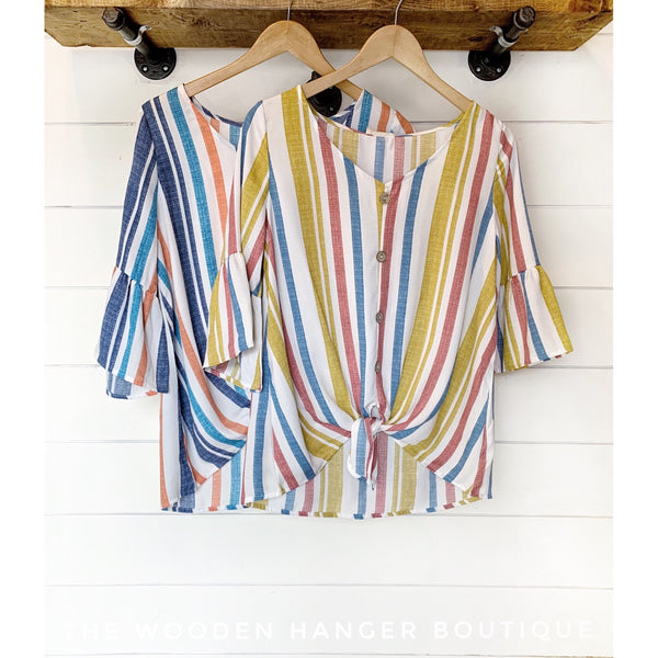 Sunshine and Tan Lines Top - The Wooden Hanger Boutique