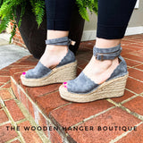 Summer of Romance Wedges - The Wooden Hanger Boutique