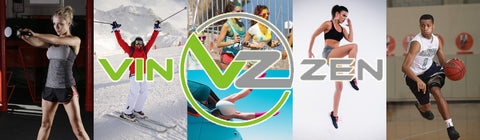 Vin Zen Compression logo athletes fitness recovery