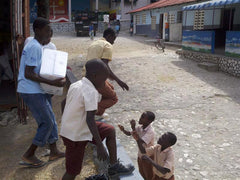 haiti charity orphans school children