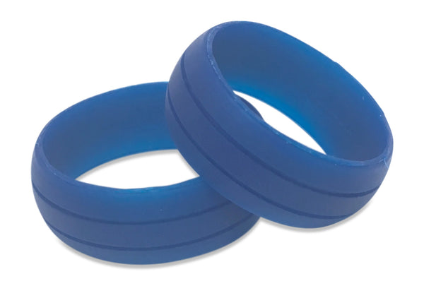 Silicone wedding rings for MEN | band @Vin Zen | Free Shipping USA Black, Camo White, Grey, Pink, Blue, White