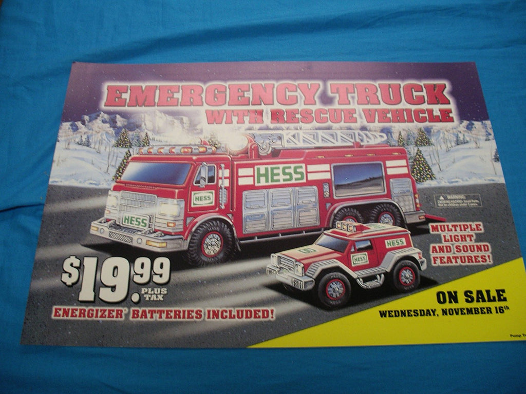 New Hess Truck 2018 >> 2005 Hess Truck pump sign | Aj Collectibles & More