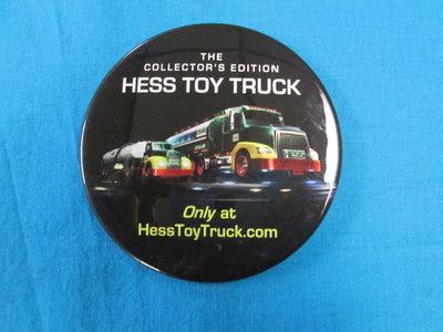 Hess Toy Truck Glasses  Button//Pin New