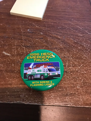 SUNOCO 1997 TOY FREIGHT TRUCK You/'ll receive 1-PIN-BACK BUTTON