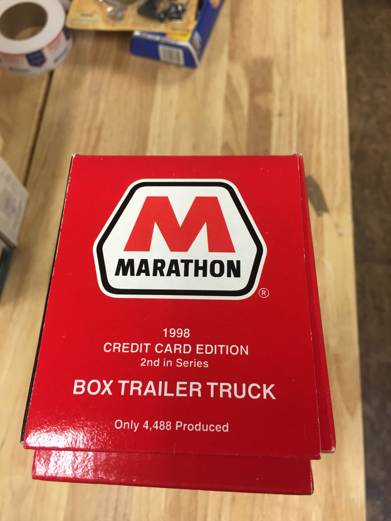 Marathon Credit Card Login >> 1998 Marathon Credit Card Edition Box Trailer Truck
