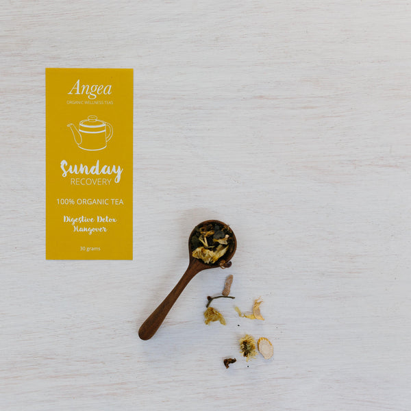 Angea Organic Wellness Tea - Sunday Recovery