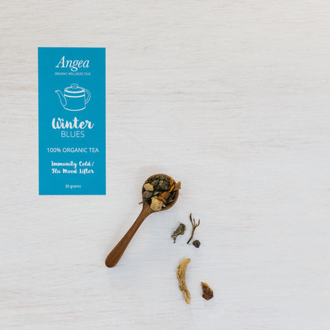 Angea Organic Wellness Tea - Winter Blues