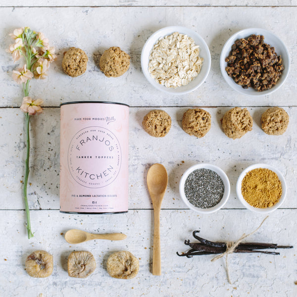 Lactation Biscuits - Fig & Almond