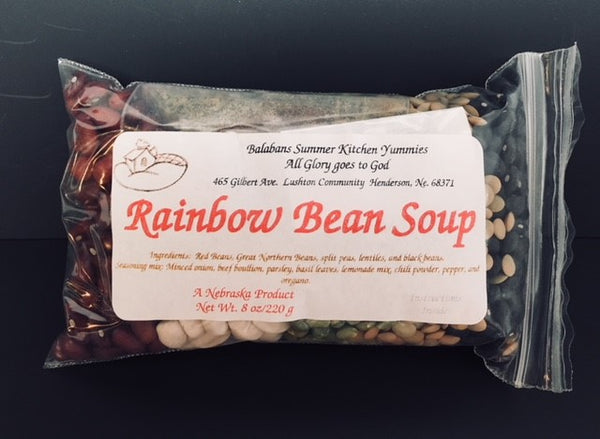 Balabans Summer Kitchen Yummies Rainbow Bean Soup Mix