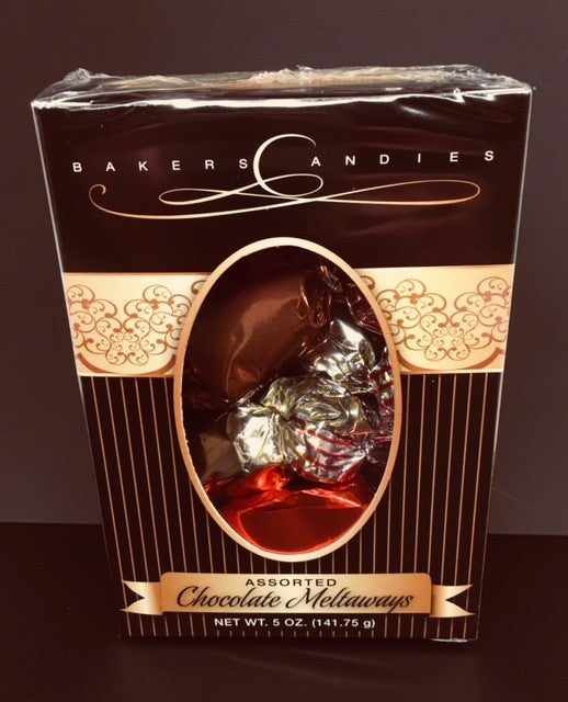 Bakers Chocolate Meltaways Boxes