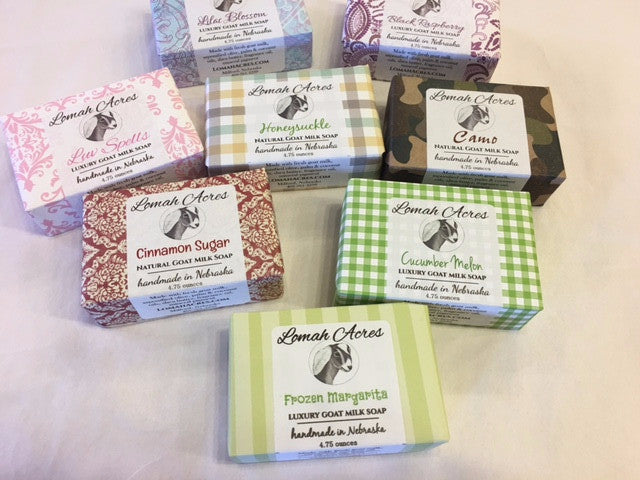 Lomah Acres Luxury Goat Milk Soap