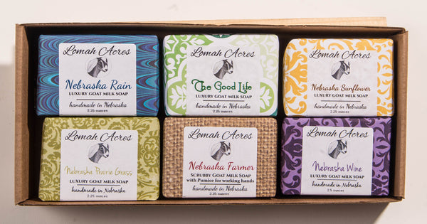 Lomah Acres Goat Milk Soap Gift Set
