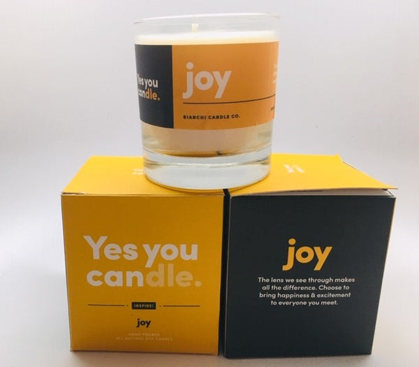 "Yes you ""can""dle  joy"