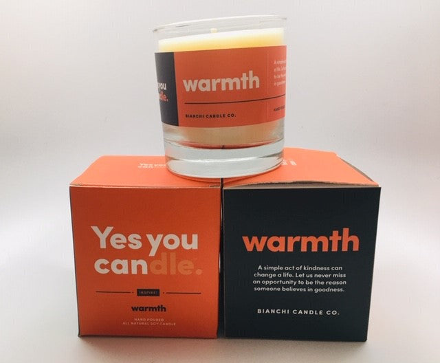 "Yes you ""can""dle warmth"