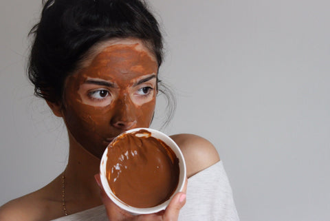 Organic Moroccan Red Clay Face Mask
