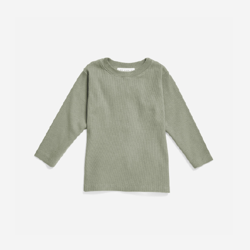 The Long Sleeve Ribbed Tee