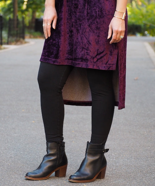 Crushed Velvet Dress