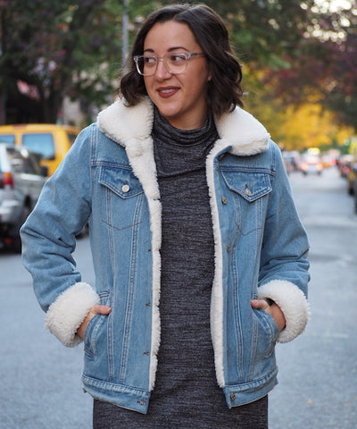 Denim Shearling Jacket