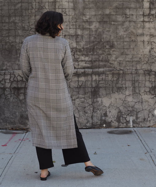 Houndstooth Duster