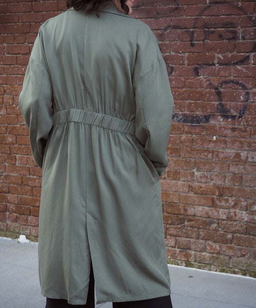 Unlined Trench Coat