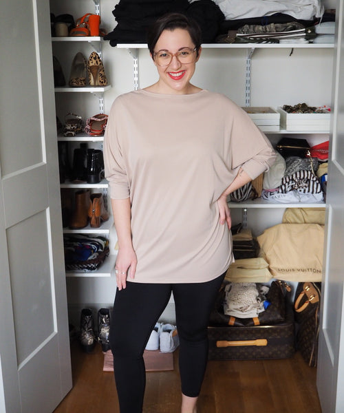 Knotted Nude Tunic