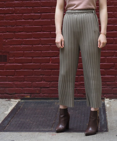 Tied Pleated Pant