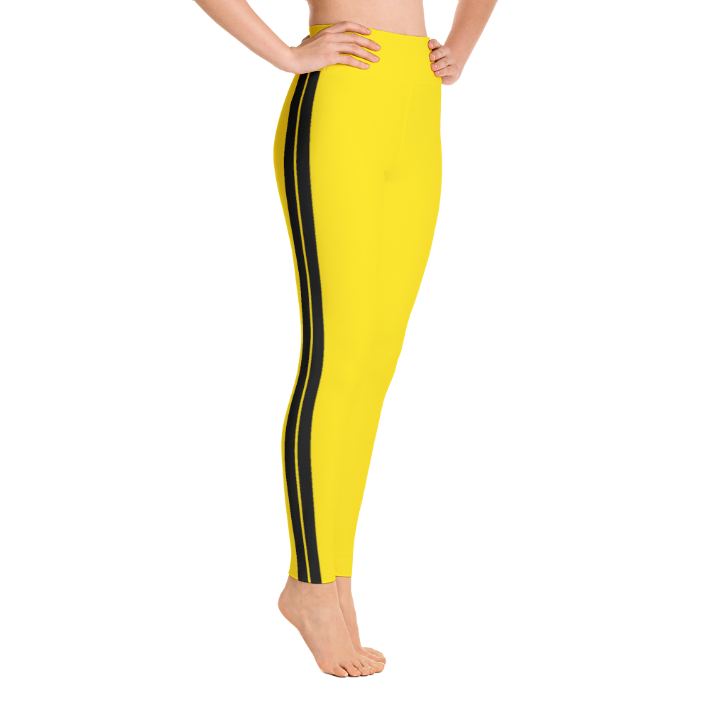 Kill Bill Yoga Pants/ Yellow Yoga Pants