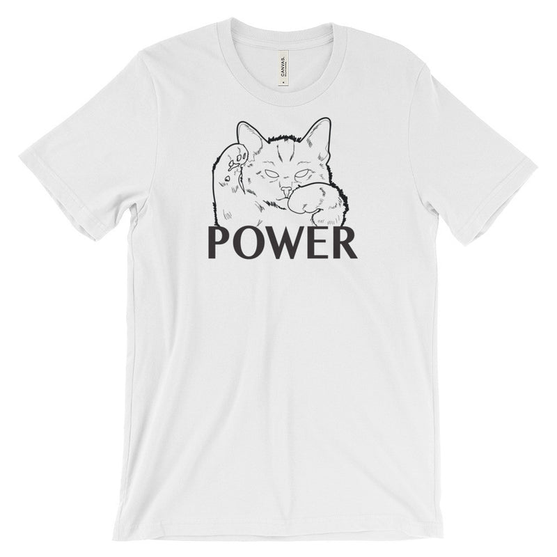 Pussy Power t-shirt - Cats on Everything