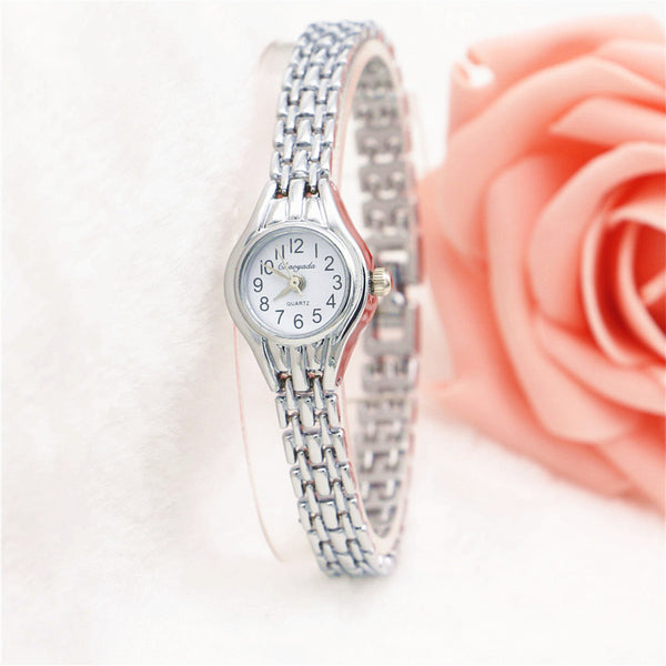 Clock Women Elegant Gold Bracelet Quartz Watches Wrist Watch Women