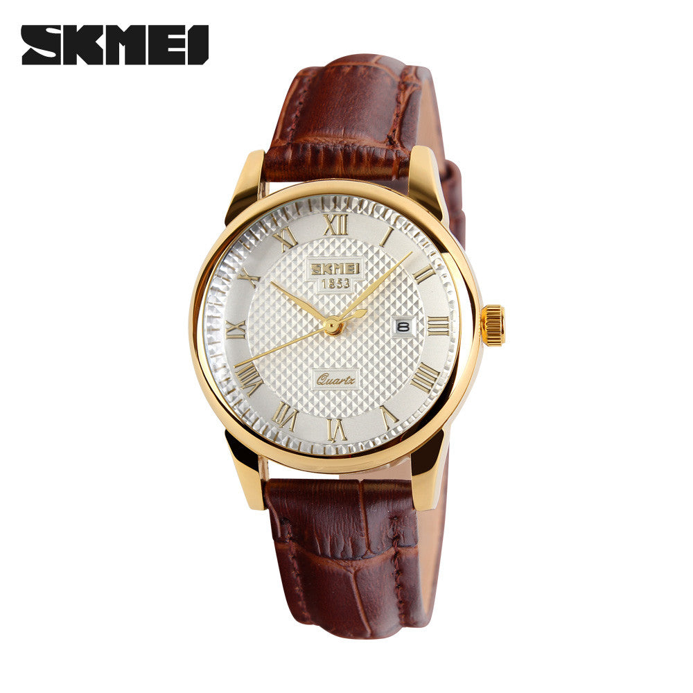 band black brown mens for silver watch watches leather fashion men designer product color wristwatch rose gold quartz