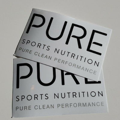 PURE Sports Nutrition Stickers