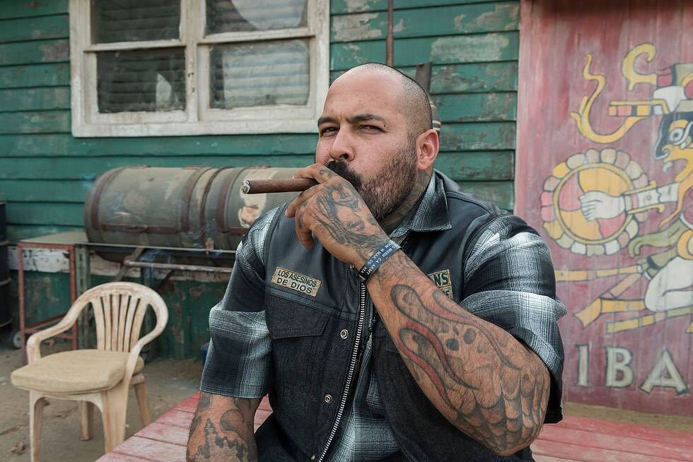 "Vincent ""Rocco"" Vargas as Gilly on Mayans MC on FX"