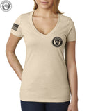 "Women's ""Unleash"" V-Neck Logo Tee"
