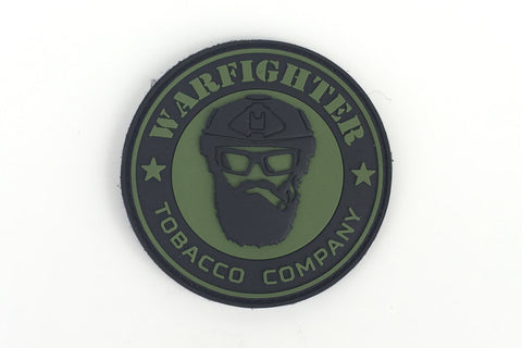 Warfighter Tobacco OD Green PVC patch