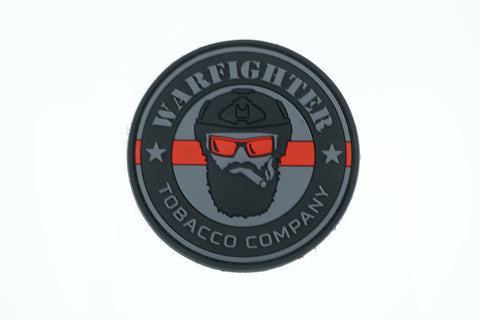 Thin Red Line Warfighter PVC Patch