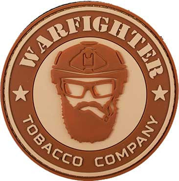 Warfighter Tobacco PVC Patch