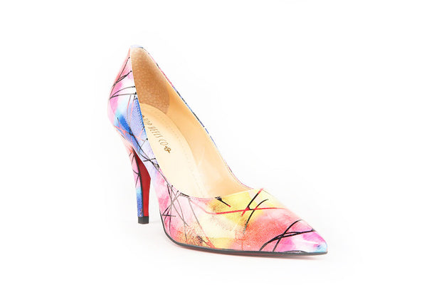Paris Rainbow Pumps