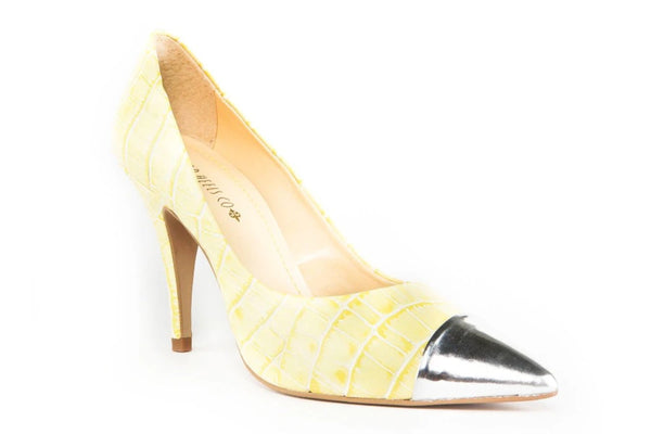 Heaven Yellow Pumps