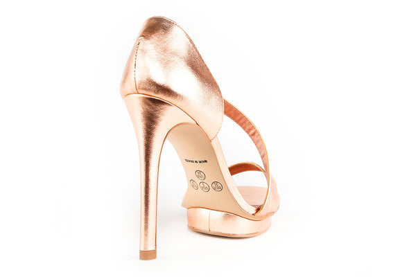Mckenna Rose Gold Sandals