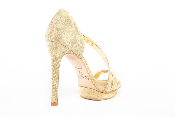 Mckenna Party Gold Sandals