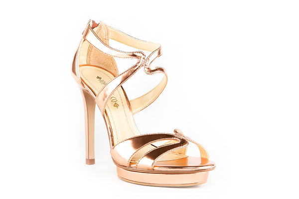 Emma Rose Gold Sandal