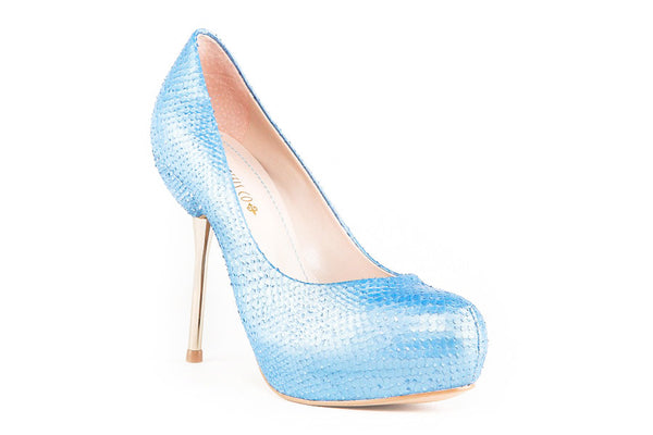 Alexis Light Blue Pumps