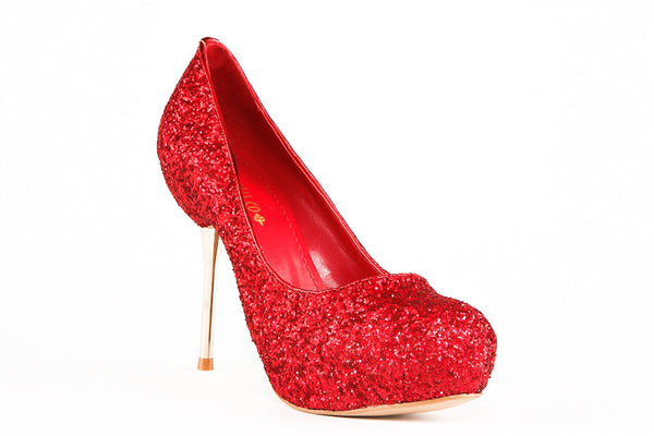 Sofia Red Pumps