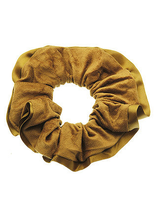 MICROFIBER FINISH SCRUNCHIE HAIR ACCESSORY - Sona Starz
